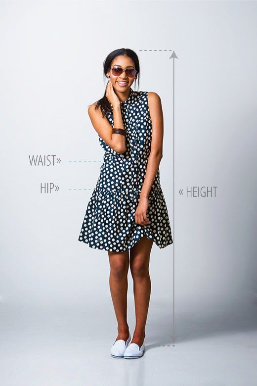 How To Alter the Height of the Dropped Waist Dress: