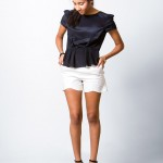 Stella Top with Sweet Scalloped Shorts