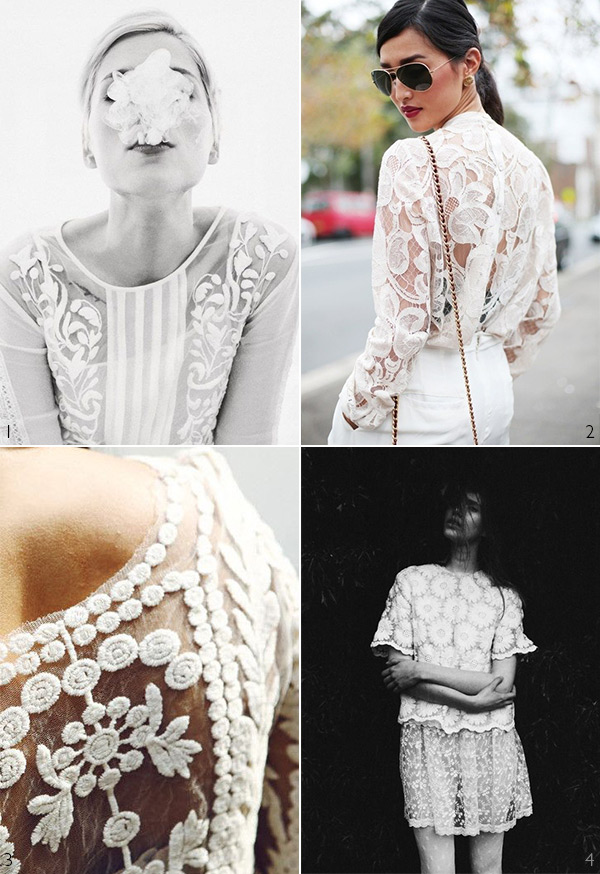 Inspire: Every Day White Lace